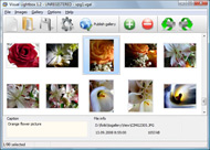 dhtml multiple popup windows Photogallery Lightbox For Blogspot