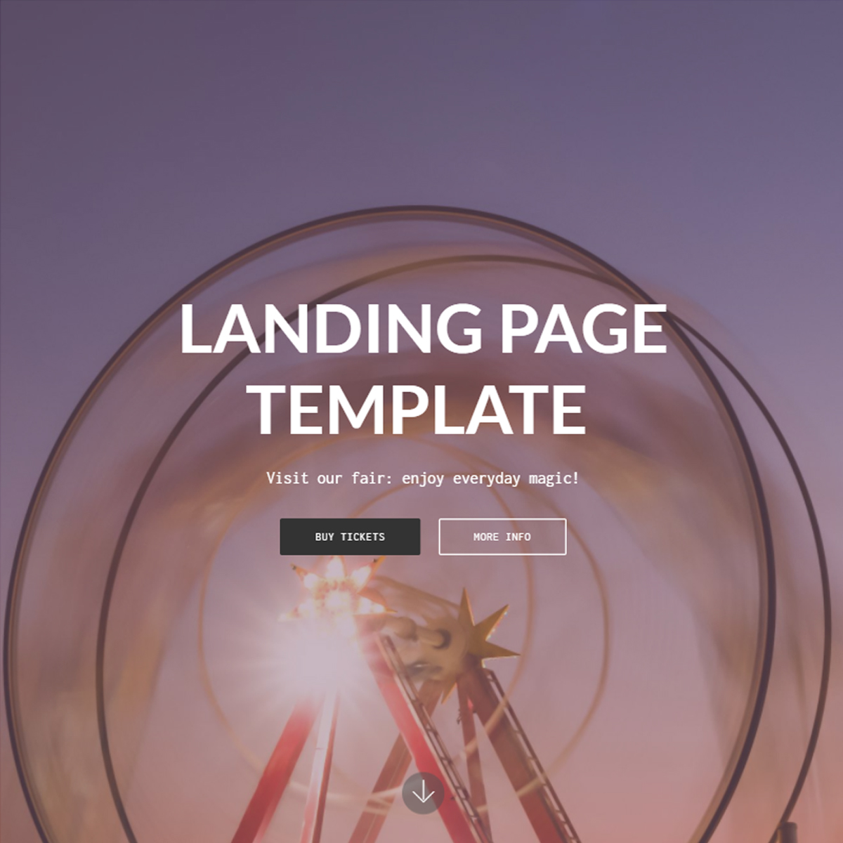 Responsive Bootstrap Landing Themes
