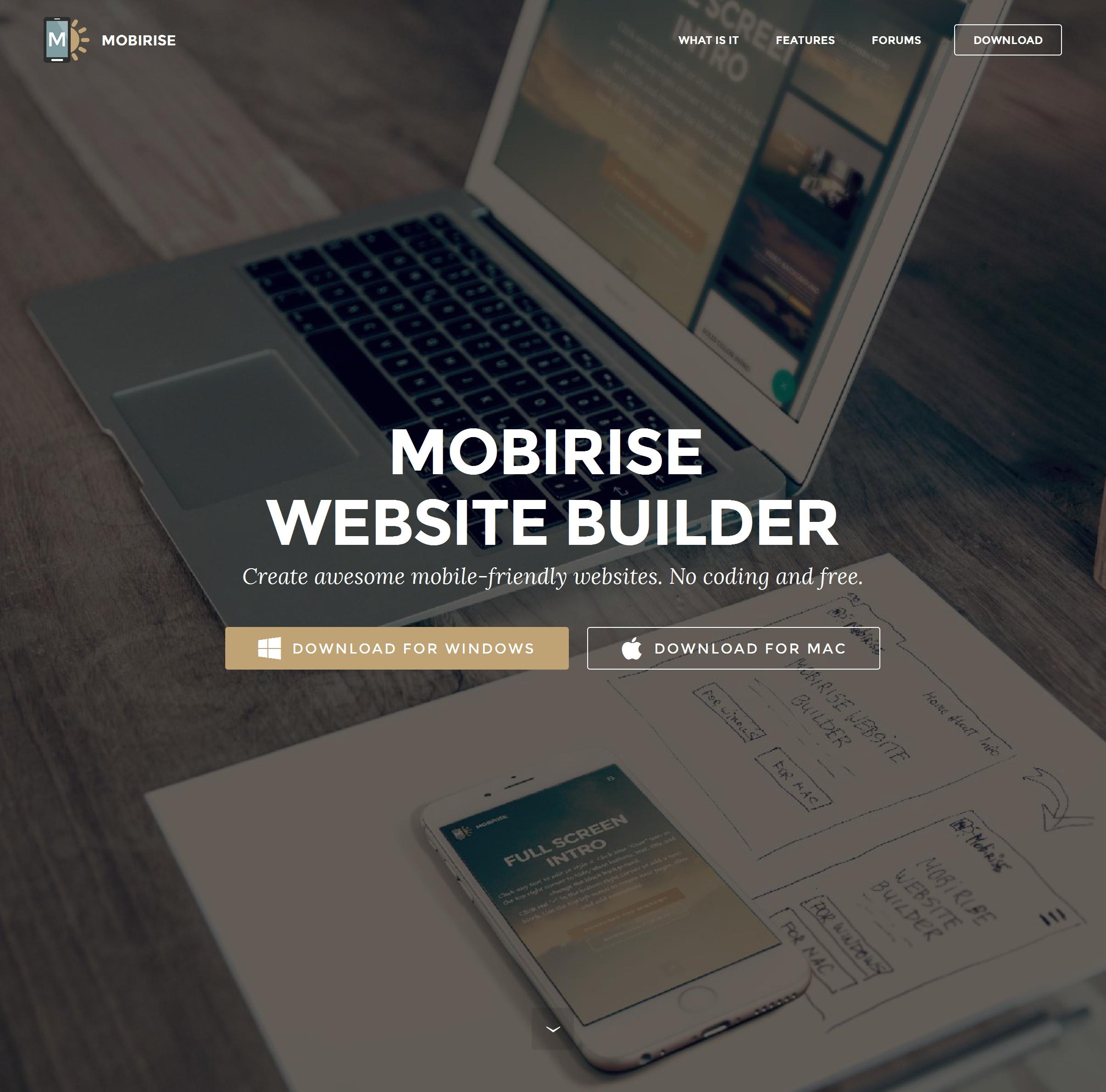 Best Free Site Builder Software
