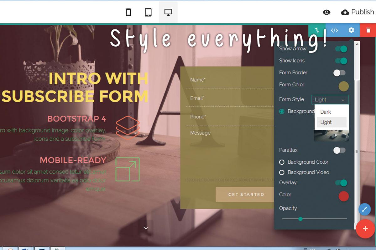 Offline Responsive Web Creator Software