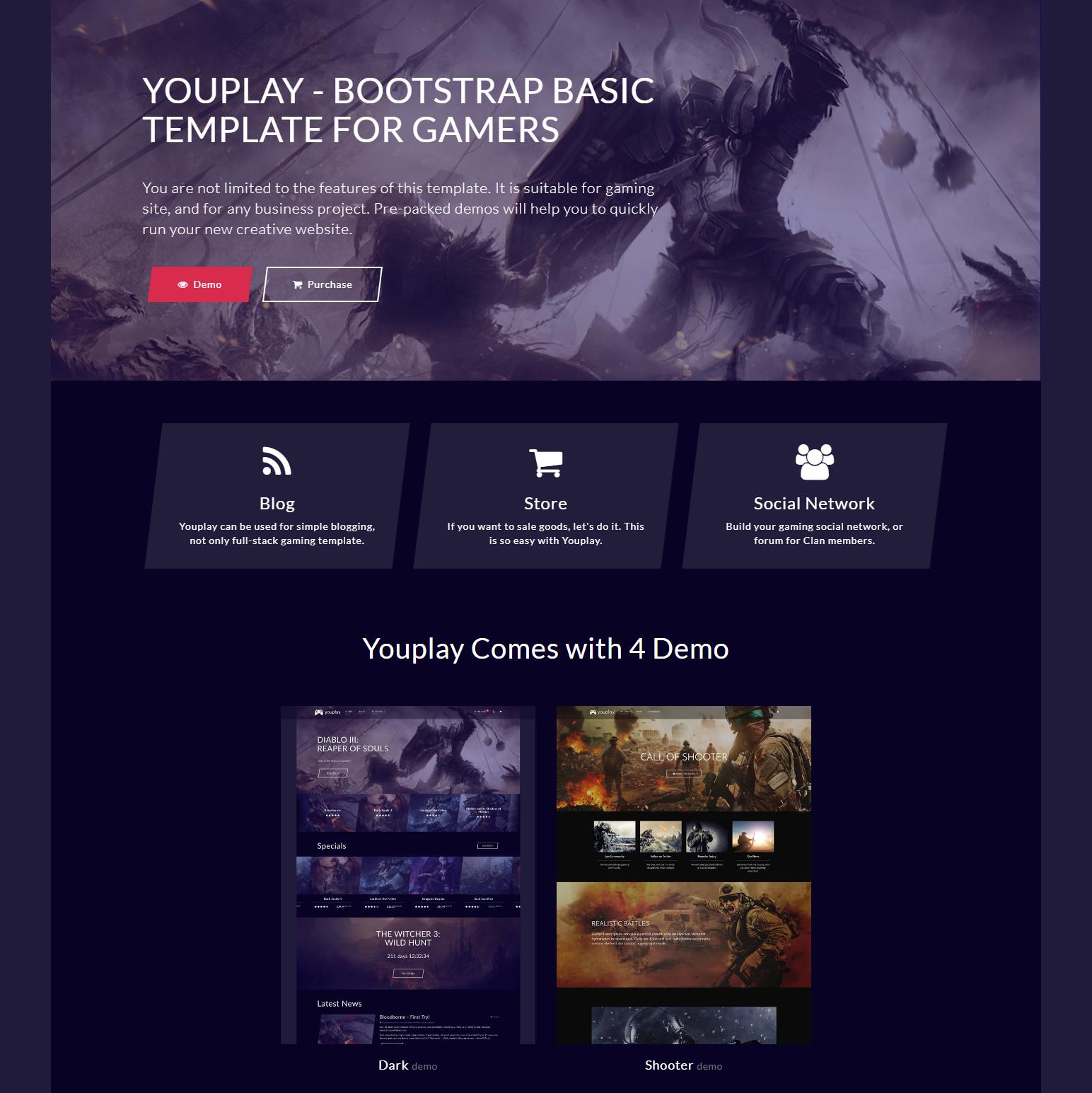 HTML Bootstrap Basic Themes