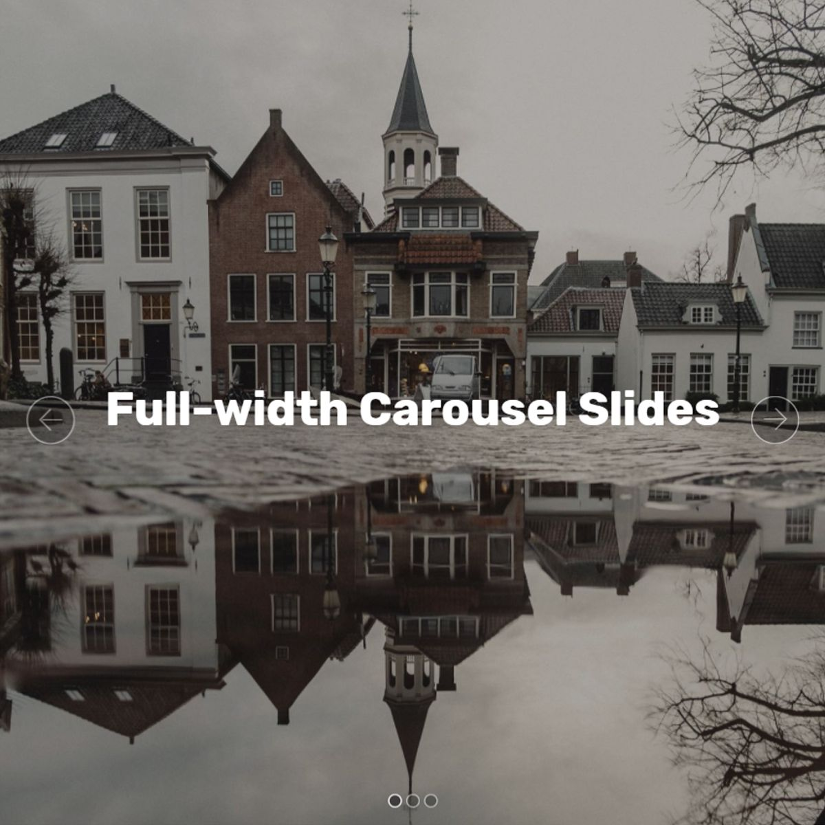 JavaScript Bootstrap Photo Slideshow